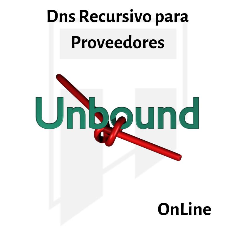 Enlace permanente:[OnLine] DNS Recursivo para Proveedores
